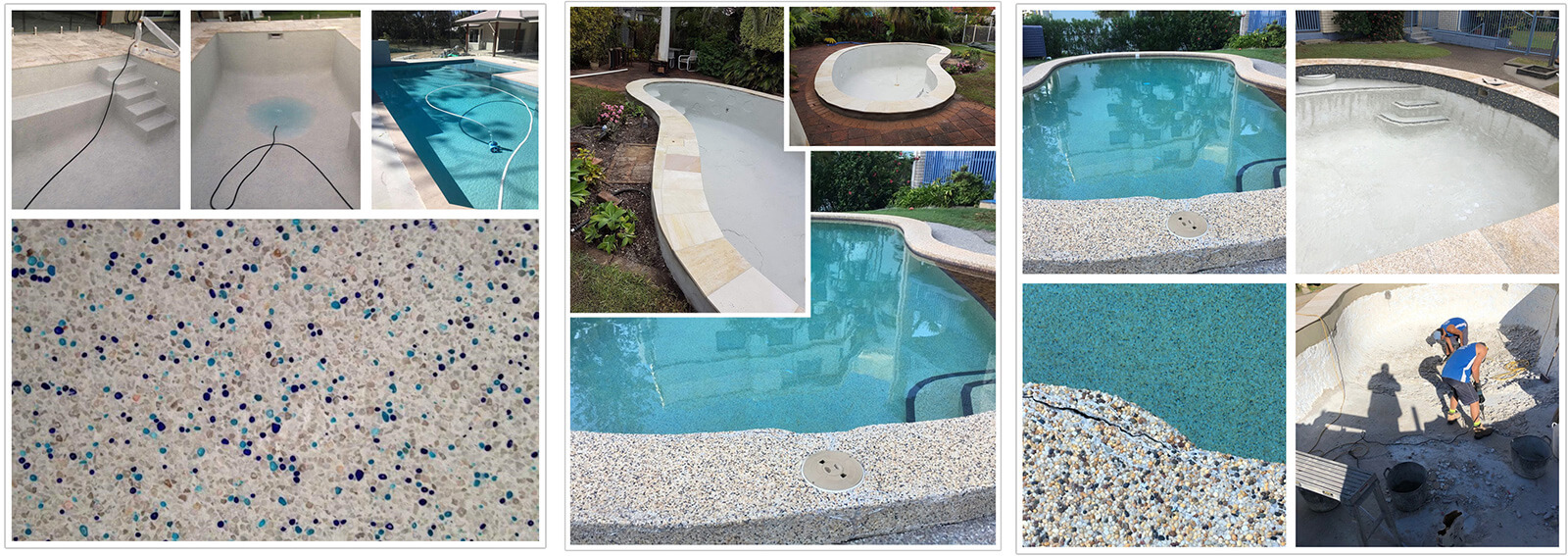 Beaded Swimming Pool Liners