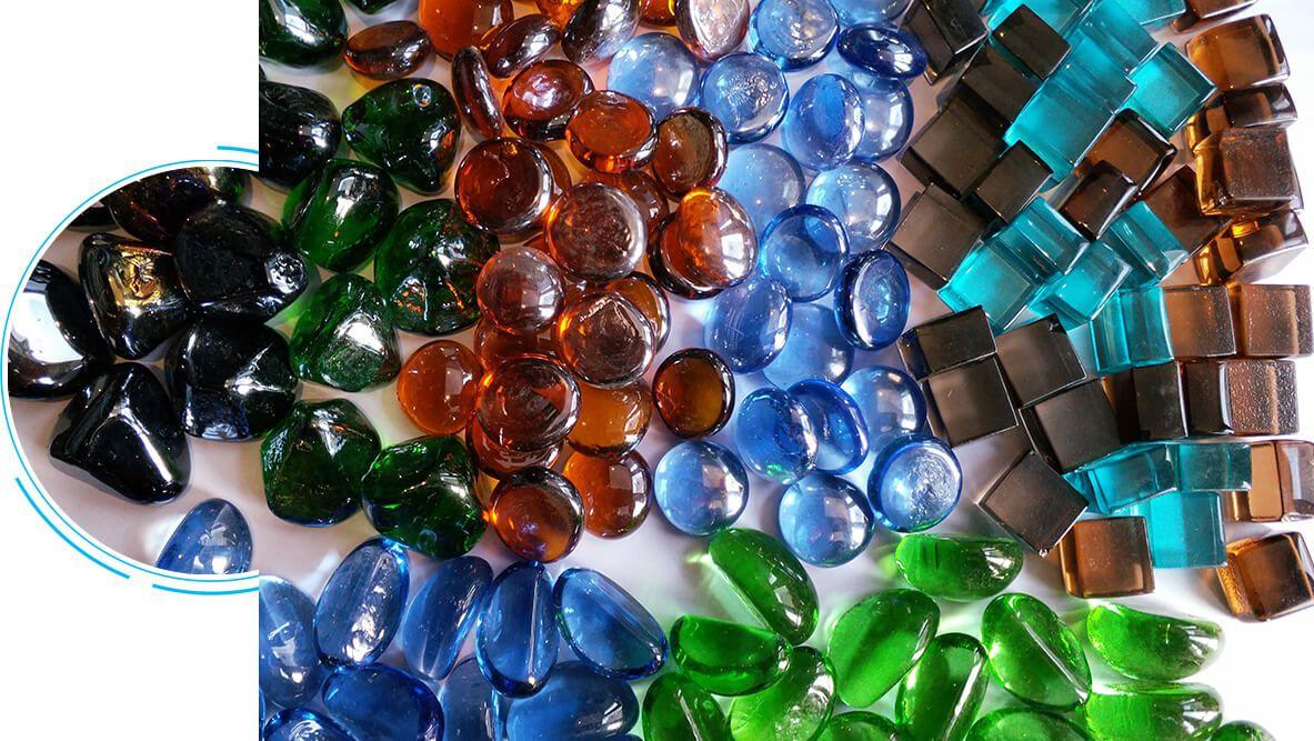Decorative Glass Bead