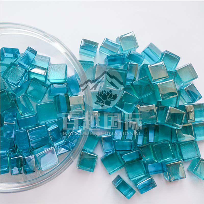 Square Glass Bead