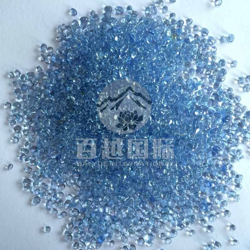 Light Blue Color Pool Beads