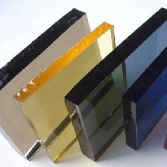 Color Glass Sheets